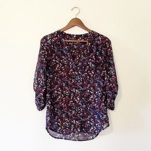 Maurices Sheer Dot Blouse